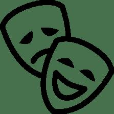 Cinema-Theatre-Mask-icon